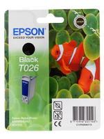 Картридж Epson T026 ч.ор.