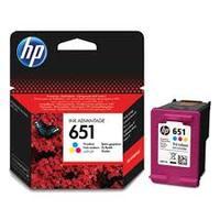 Картридж HP 651 цв.ор. C2P11AE