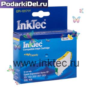Струйный картридж Epson T1714 Yellow, InkTec