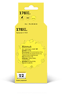 Картридж HP 178XL (СB325HE) желтый совм.