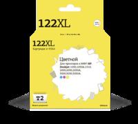 Картридж Т2  №122XL HP, цветной